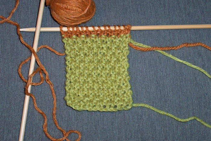 Knitting Progress - Throw (2010-09-21)