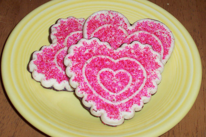 Valentine's Day Cookies - 2011