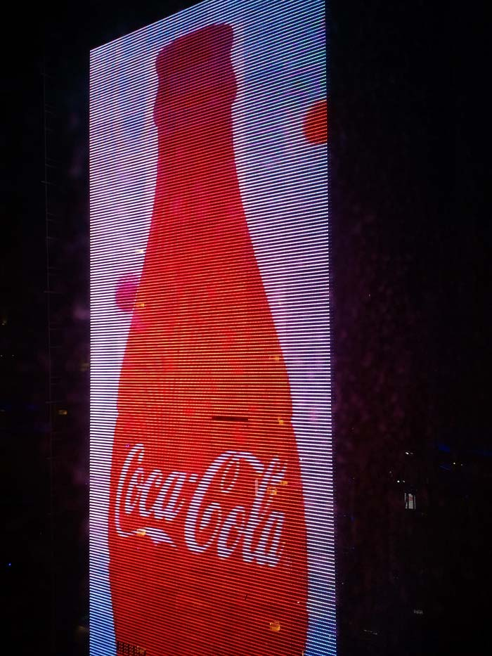 Coca-Cola billboard.