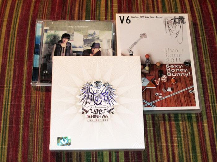 Thank You, Music!: Shinhwa, Chemistry, and V6
