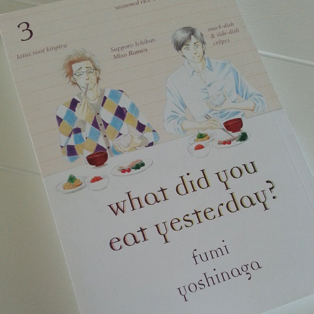 What Did You Eat Yesterday?, Vol. 3 by Fumi Yoshinaga #nowreading #manga