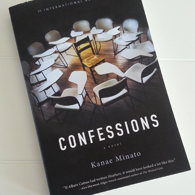 Confessions by Kanae Minato.  An excellent psychological thriller. Highly recommend it! (And now I really want to see the film...) #books #nowreading #justfinished