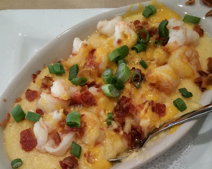 Shrimp Grits From Rusty Bellies