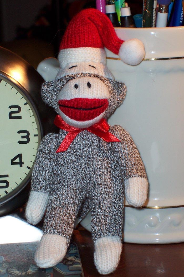 A Very Sock Monkey Christmas!