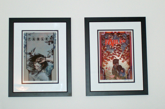 Right Where They Belong - Art from Fables by James Jean