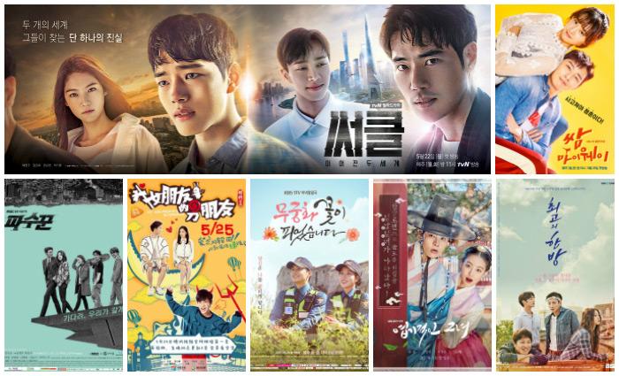 Asian drama simulcast series premieres for May 22-June 4, 2017.