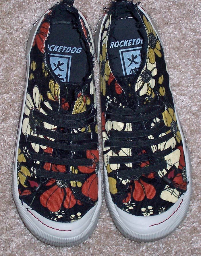 Floral Rocketdog Sneakers
