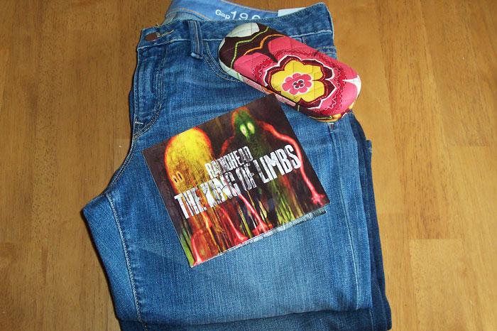 Jeans, Radiohead, Glasses Case