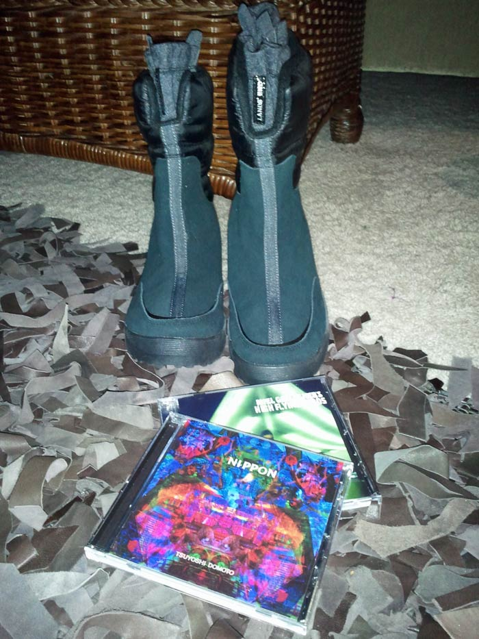 Boots and CDs