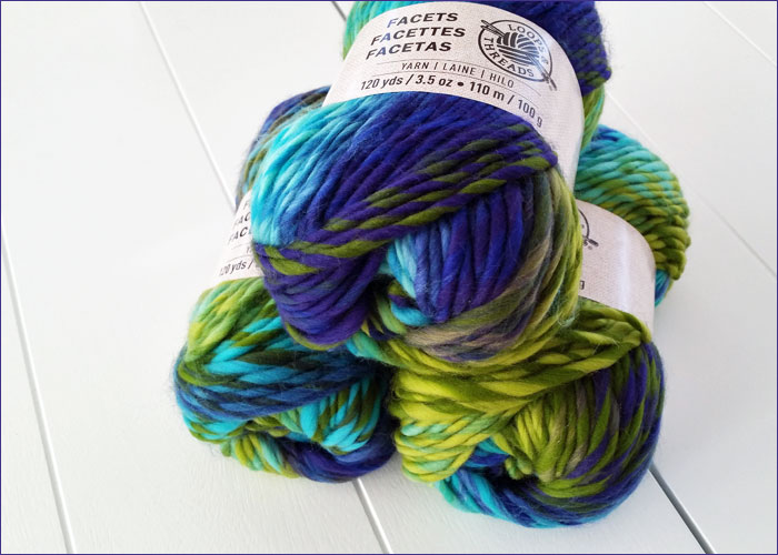 New Blue & Green Yarn(!)